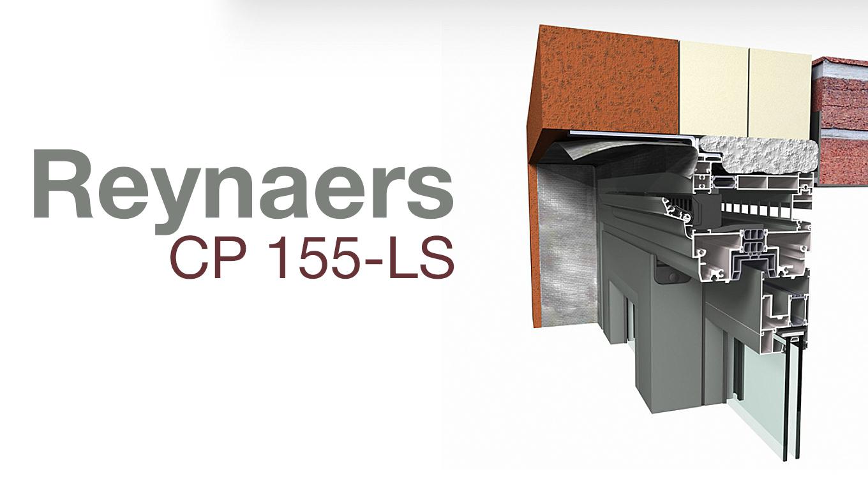 Алюмінієвий профіль Reynaers CP 155-LS