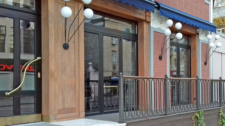 Панорамне скління ресторану