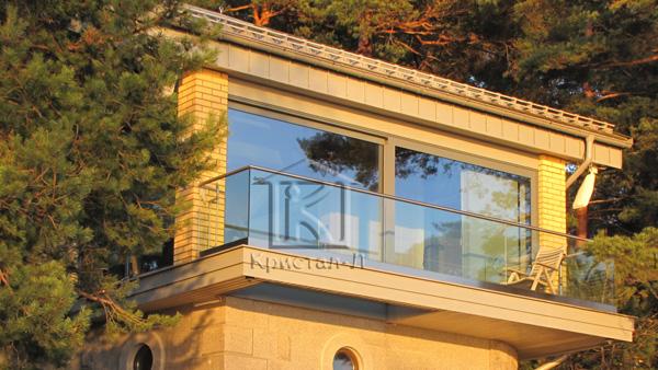 Французькі вікна для виходу на терасу