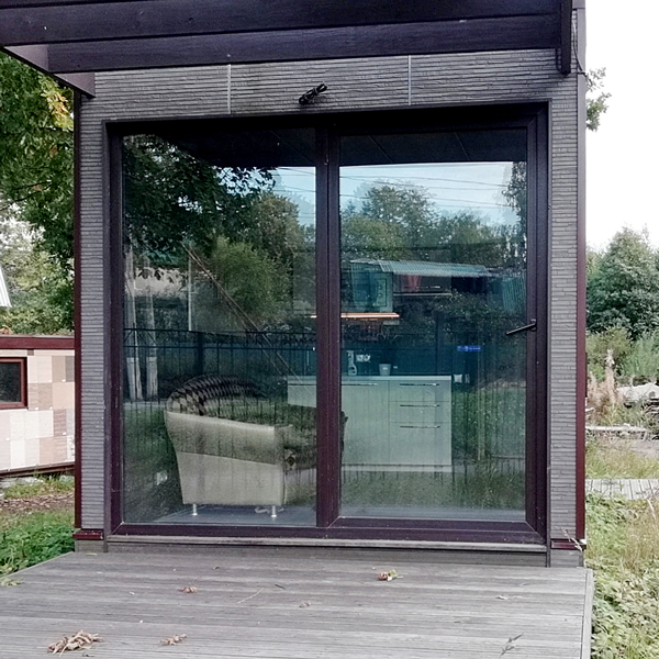 Розсувні двері в котеджі