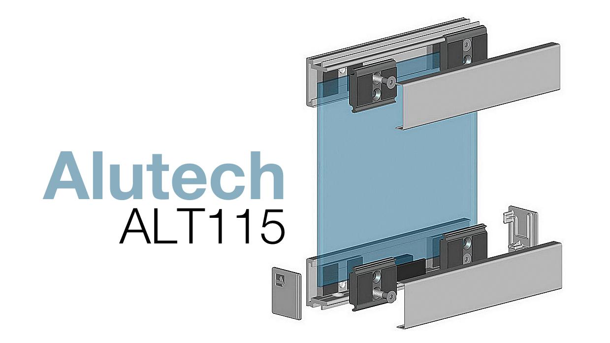 Алюмінієва система Alutech ALT115