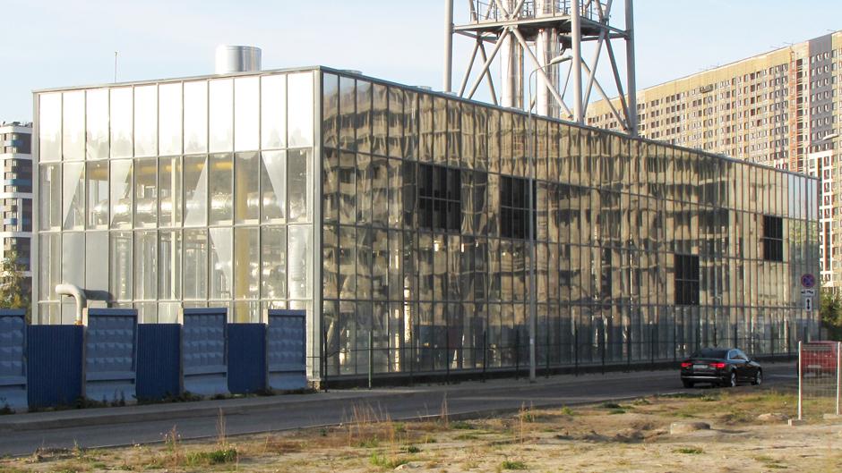 Фасадне скління виробничих будівель