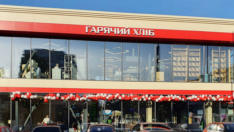 Фасадне скління магазину