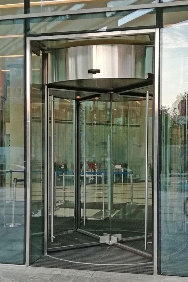карусельні двері