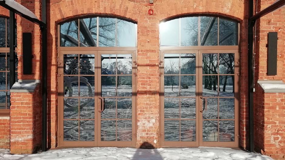 Штульпові двопільні двері